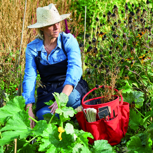 Sac de jardinage en Toile de Jute, sac outils de jardin, Culture Potager